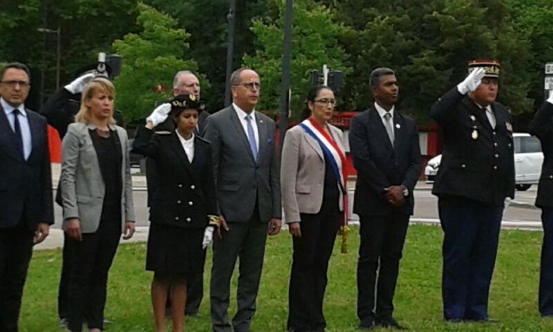 Cérémonie de commémoration de l'appel du 18 Juin 1940 à Longvic