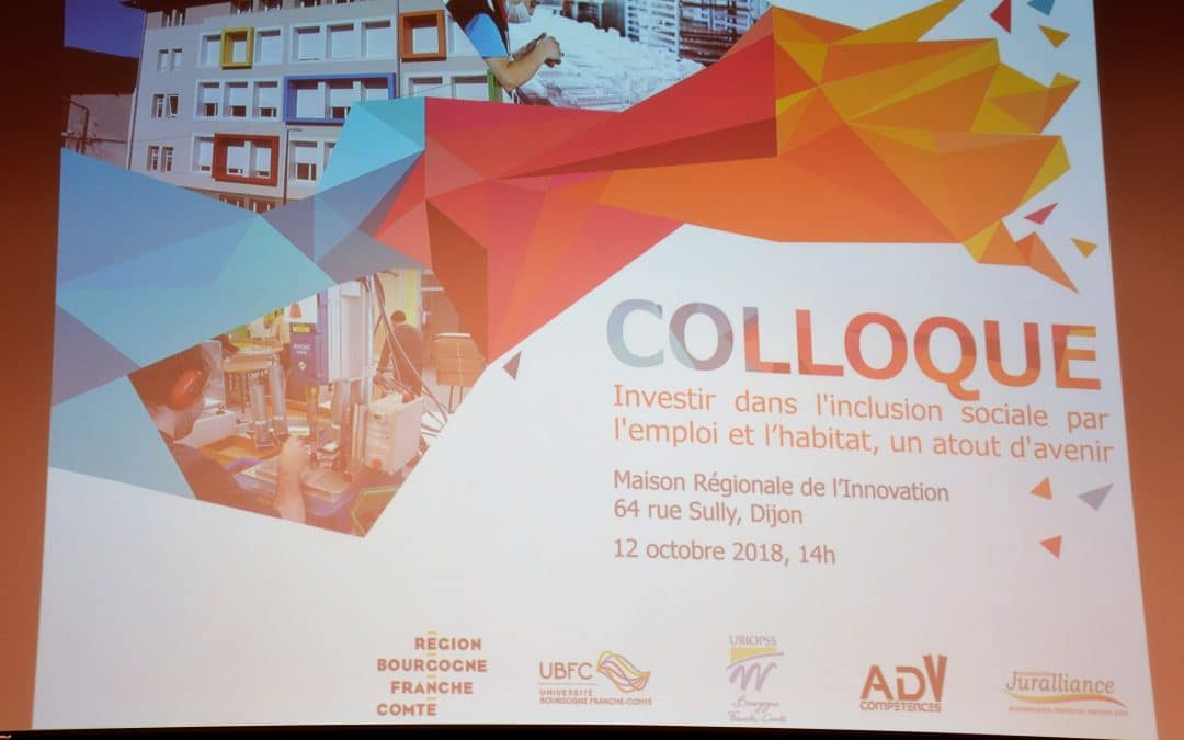 Colloque Investir dans l'inclusion sociale