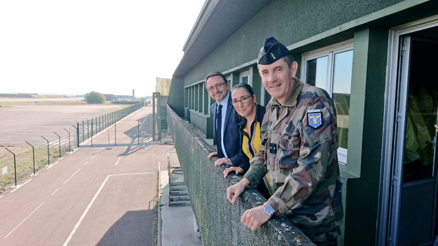 Visite de l'école de gendarmerie de Longvic