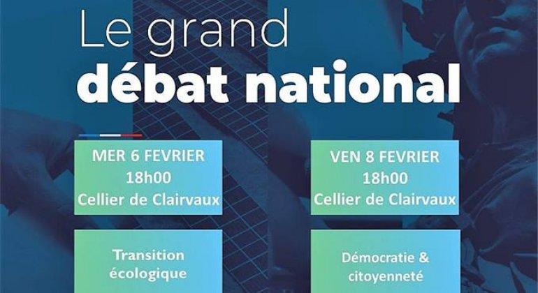 Grand Débat National : Succès pour les réunions des 6 et 8 février