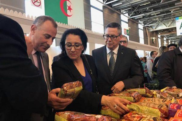 Salon de l'agriculture – Visite du pavillon algérien
