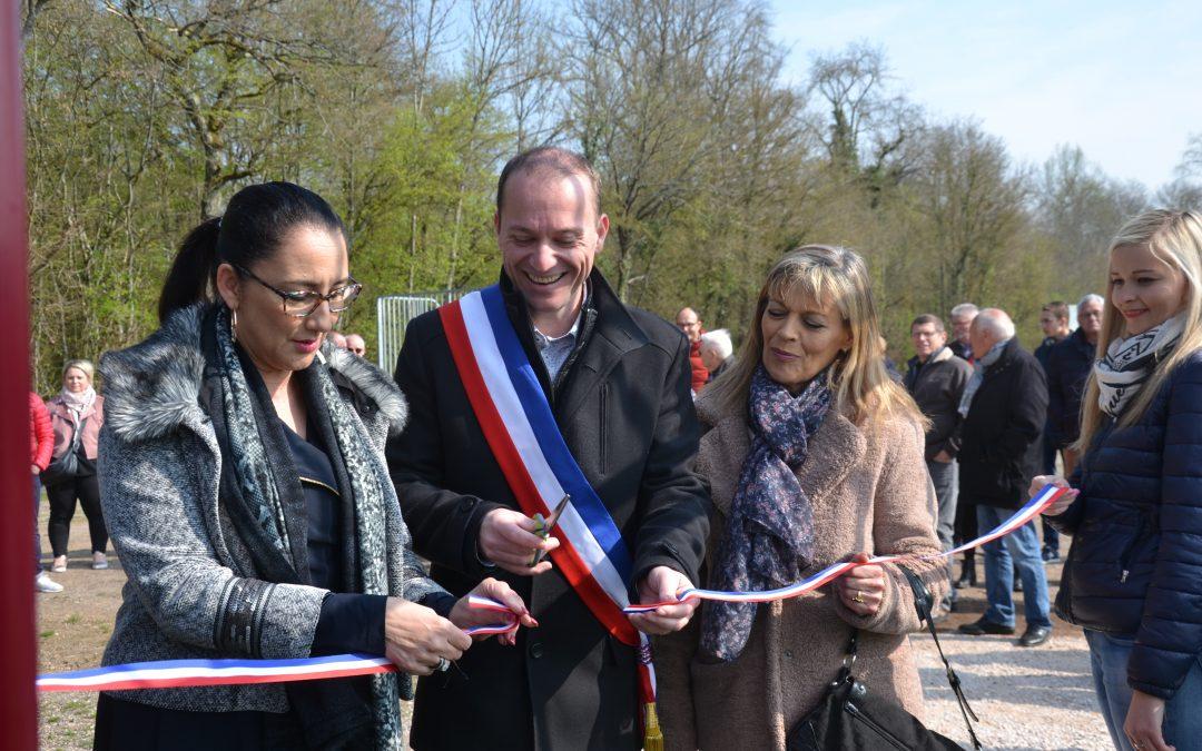 Inaugurations à Thorey en Plaine