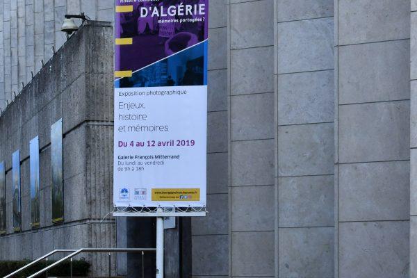 Exposition Guerre d'Algérie, histoire commune, mémoires partagées ?