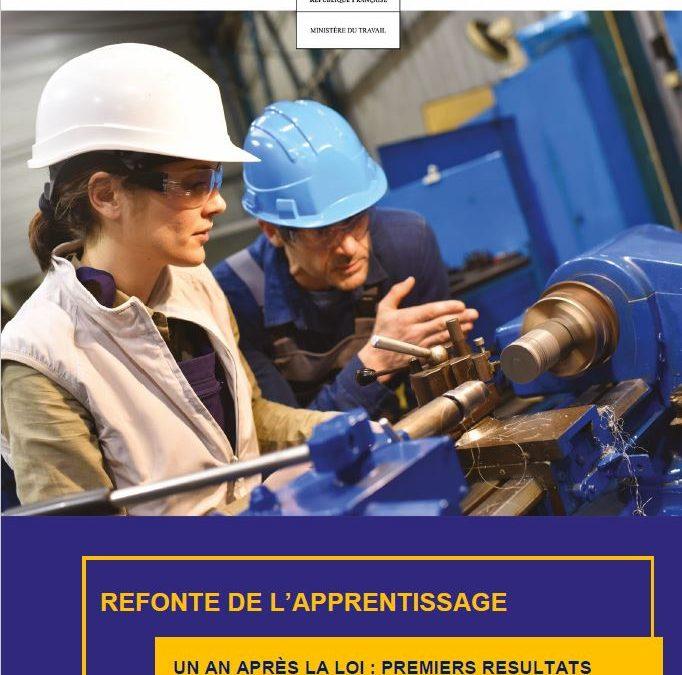 Rentrée 2019 de l'Apprentissage: les premiers résultats de la réforme…