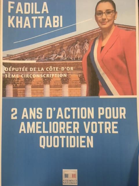 Réunion de «bilan des deux ans de mandat» à Dijon