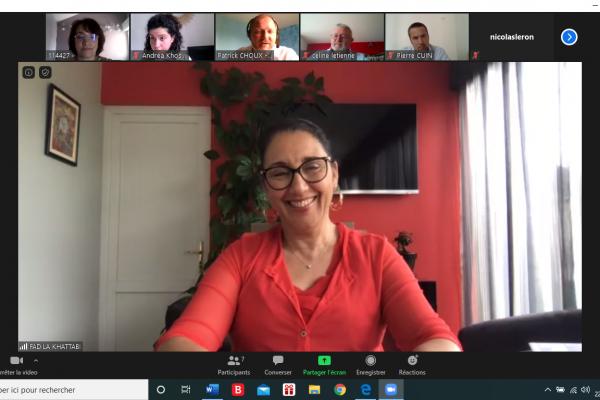 Mes échanges en Visio avec l'entreprise d'insertion: le Groupe Idées 21