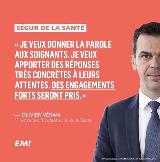Déplacement à Dijon du Ministre de la Santé et des Solidarités, Olivier VERAN