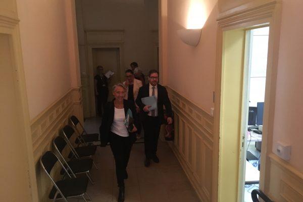 Déplacement à Dijon de la Ministre de la Transition écologique et solidaire, Madame Elisabeth BORNE